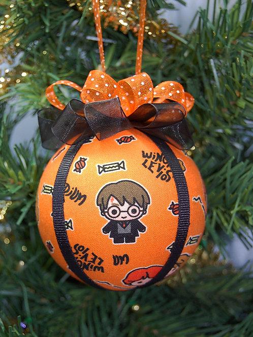 "Wizard Student & Friends Halloween ornament - 3"""