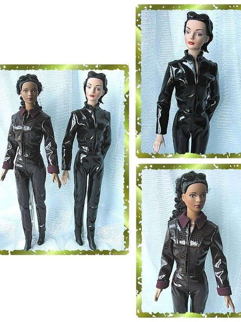 """TW-0603-Jacket & Pants Pattern For 16"""" Tyler Wentworth Doll"""