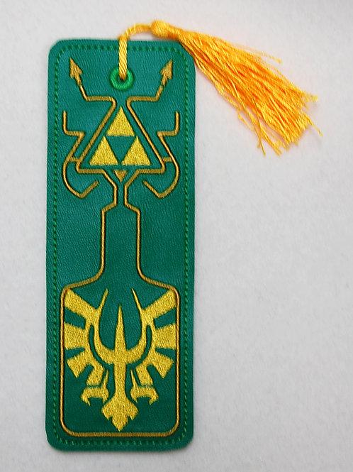 Elf Princess Tale embroidered bookmark