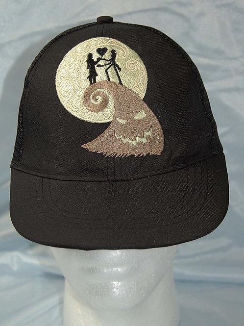 Skeleton Head/Patch Girl Love cap