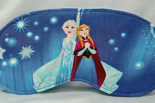 Frozen licensed cotton fabric sleep mask