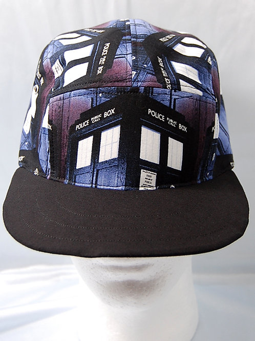 Dr. Space ship cap (made from Licensed cotton print fabric)