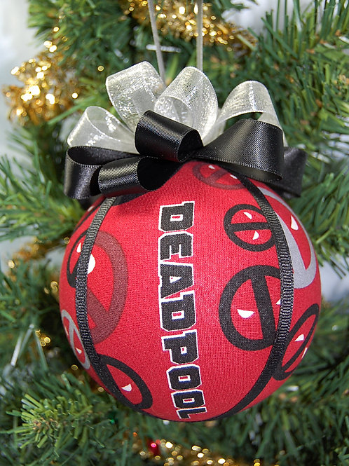 """Antihero ornament - 4"""" (made from Licensed cotton print fabric)"""