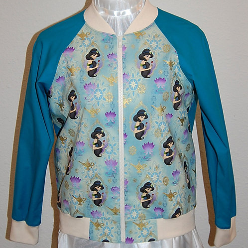 Jasmine ladies jacket (made from Licensed cotton print fabric)