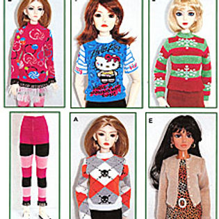 PSD-09201 - SD size  Sweaters-To-Sew pattern