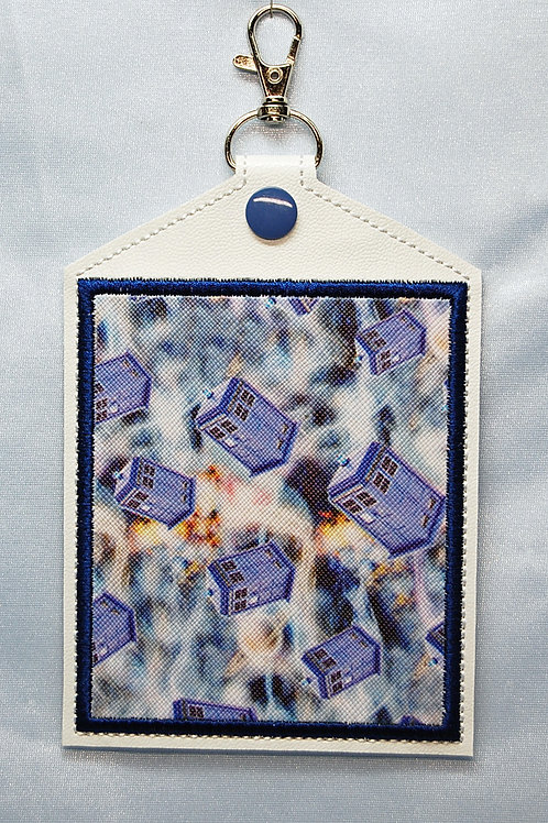 Time Displacement Machine - Vaccination Card Holder