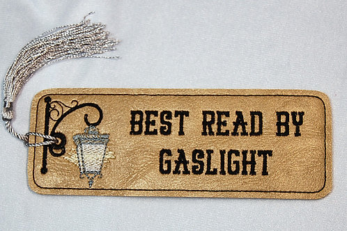 Best Read By Gaslight (Steampunk) bookmark