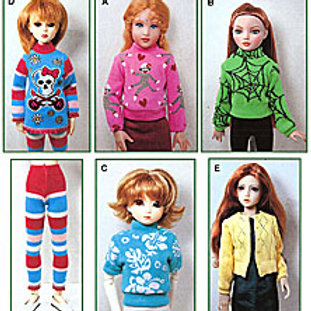 PMSD-09101 - MSD size  Sweaters-To-Sew pattern