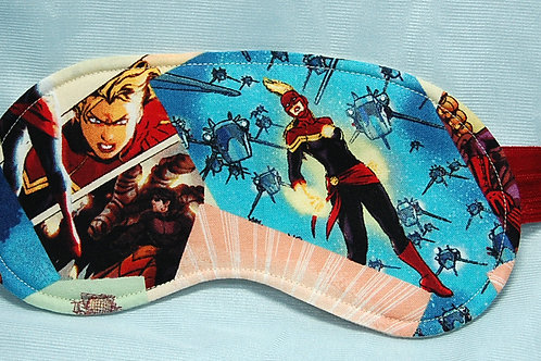 Commander Awesome sleep mask (made w/Licensed cotton print fabric)
