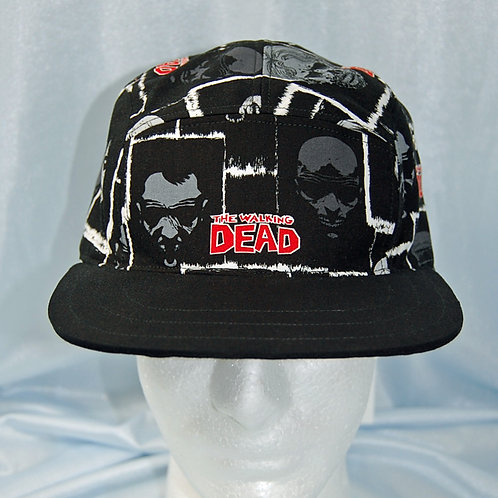Zombie Faces cap (made from Licensed cotton print fabric)