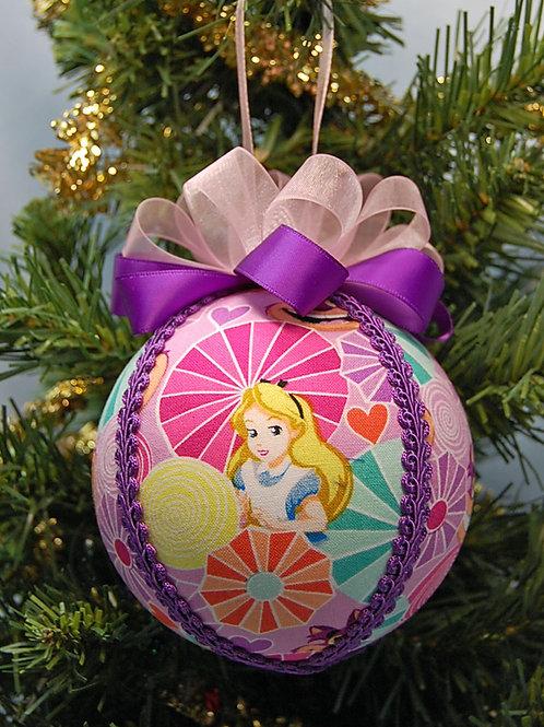 "Wonderland Alice ornament - 4"""
