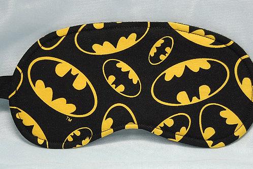 Bat Guy sleep mask (made w/Licensed cotton print fabric)