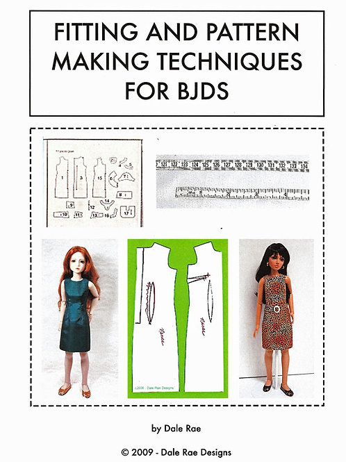 Fitting & Pattern Making booklet/Ball-jointed dolls
