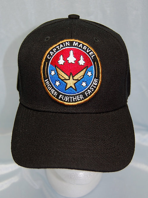 Commander Awesome cap