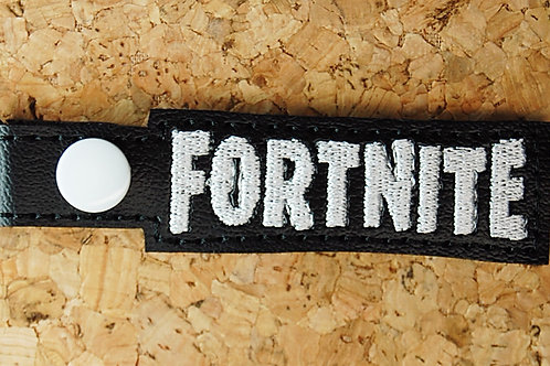 Fort Building Video Game Name snap tab key fob