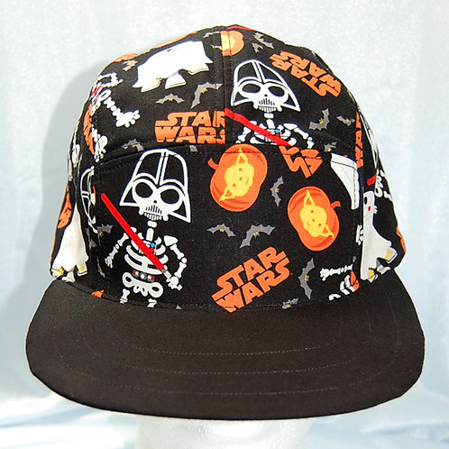 Star Battles Halloween cap (made from Licensed cotton print fabric)