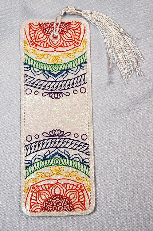 Fractal - rope bookmark