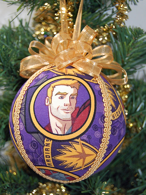 """Galaxy Protectors ornament - 4"""" (made from Licensed cotton print fabric)"""