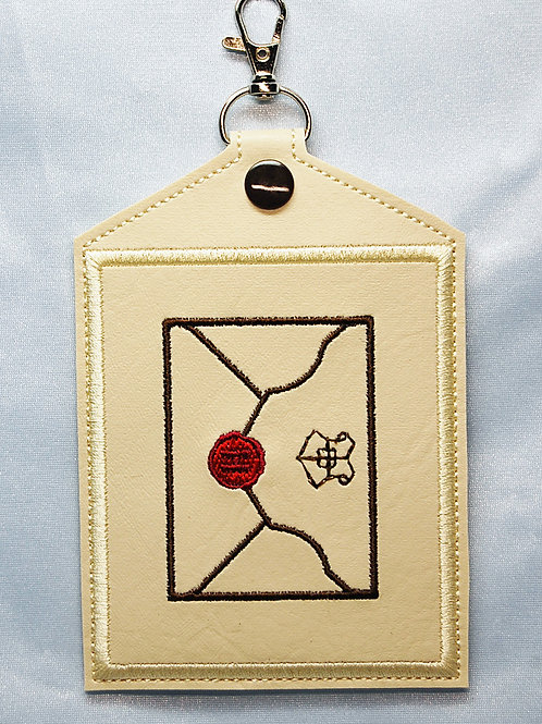Wizard Letter - Vaccination Card Holder