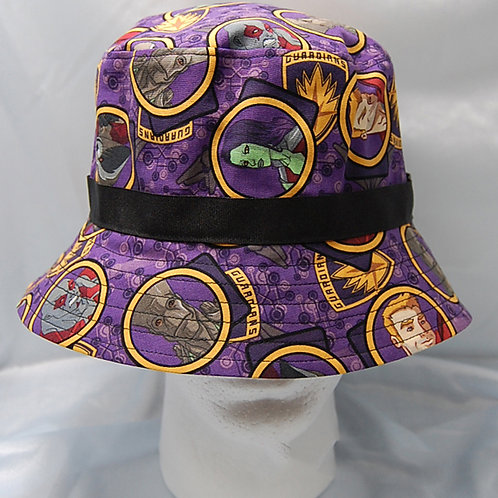 Galaxy Guards bucket hat - made from Licensed cotton print fabric