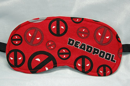 Antihero licensed cotton fabric sleep mask red/black