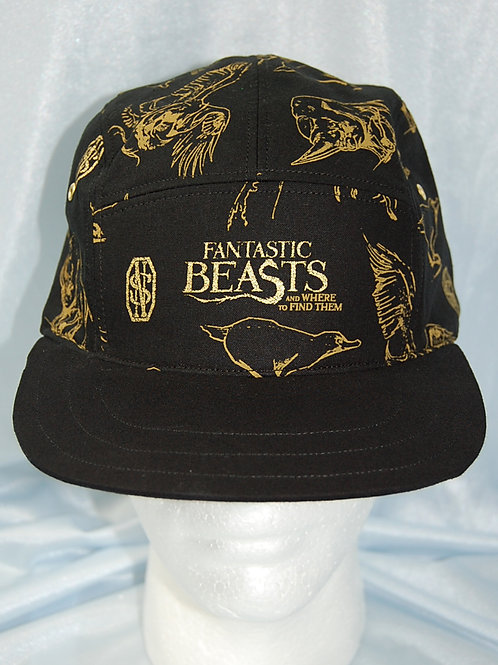Beasts cap (made from Licensed cotton print fabric)