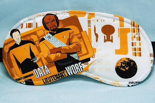 Star Travel NG sleep mask - made w/Licensed cotton print fabric