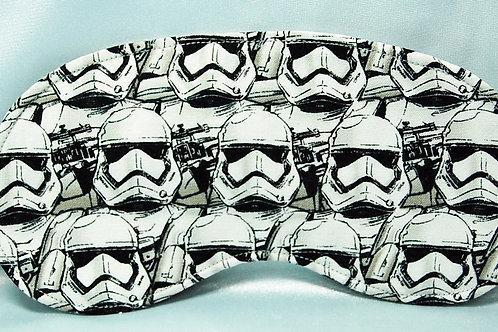 Star Battles sleep mask (made w/Licensed cotton print fabric)