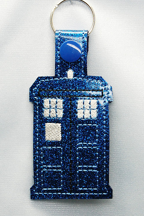 Dr. Space Time Displacement Vehicle snap tab key fob