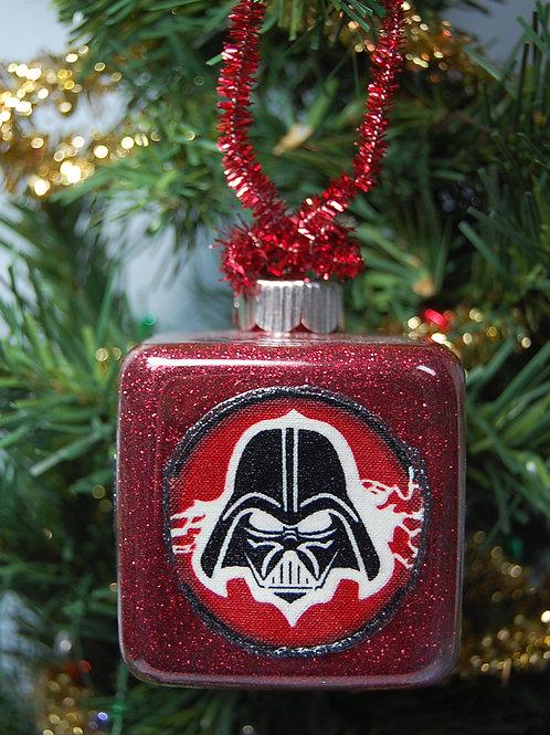 "Star Battles square ornament - 3"""