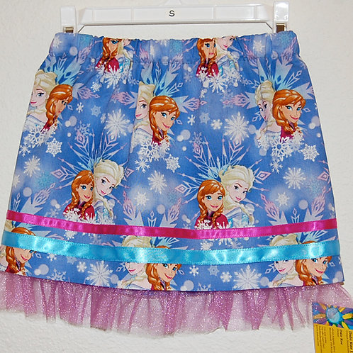 Frozen skirt (made from Licensed cotton print fabric)