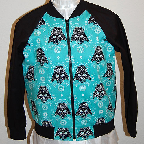 Star Battles Villian ladies jacket (made from Licensed cotton print fabric