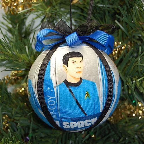 "Star Explorer Science Officer - blue ornament - 3"""