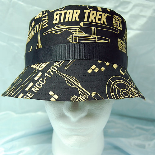 Star Explorer bucket hat - made from Licensed cotton print fabric