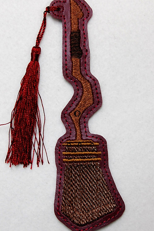 Wizard Lion House Game Broom embroidered bookmark