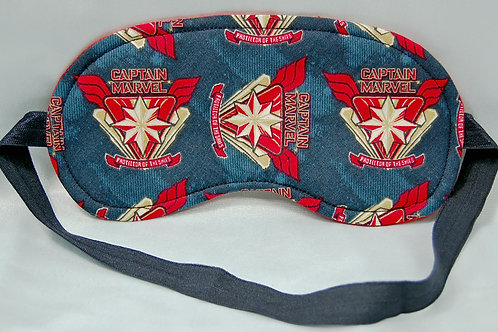 Commander Awesome sleep mask - made w/Licensed cotton print fabric