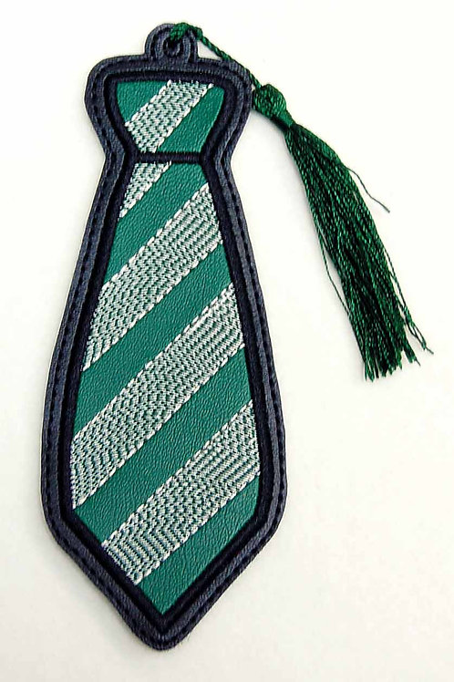 Wizard Snake House Tie embroidered bookmark
