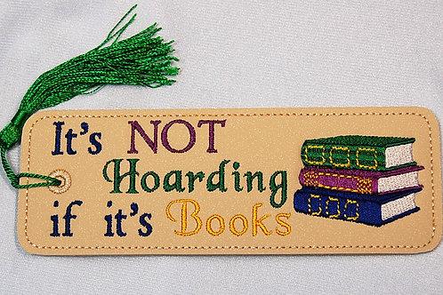 It's Not Hoarding - Books bookmark
