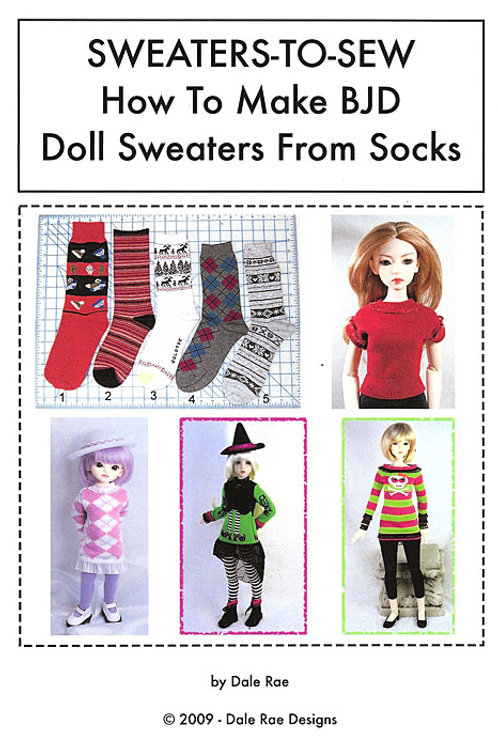 Sweaters-to-Sew-how to make doll sweaters from socks