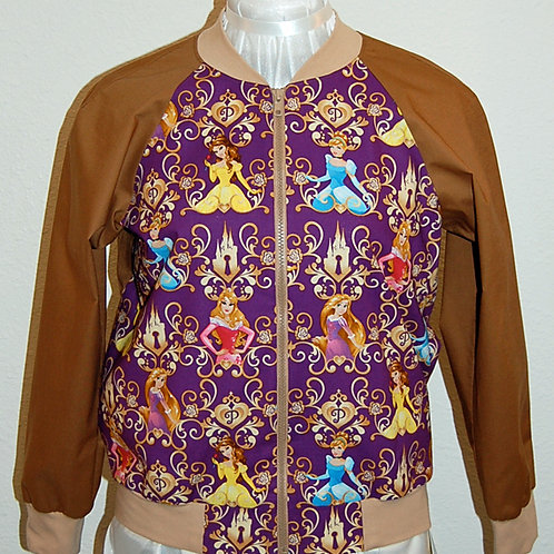 Princesses ladies jacket (made from Licensed cotton print fabric)