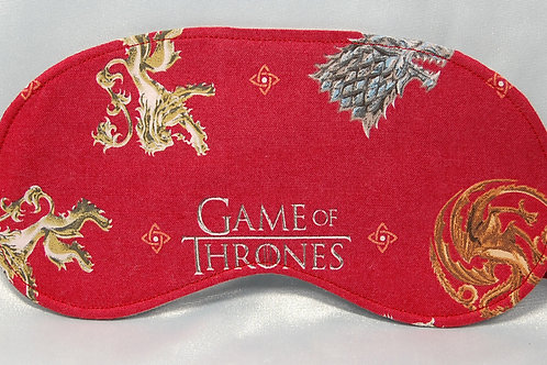 Throne Game licensed cotton fabric sleep mask
