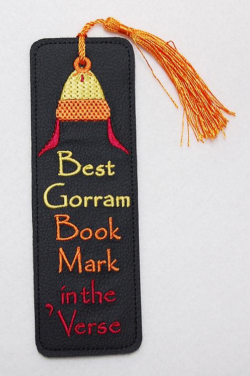 Best Goram embroidered bookmark