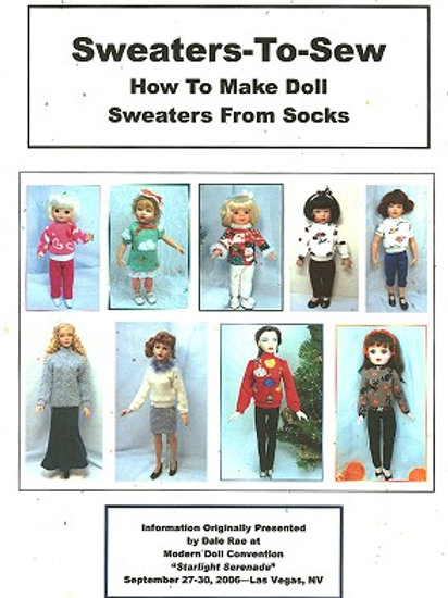 Sweaters-to-Sew (sweaters made from socks-child/fashion dolls)