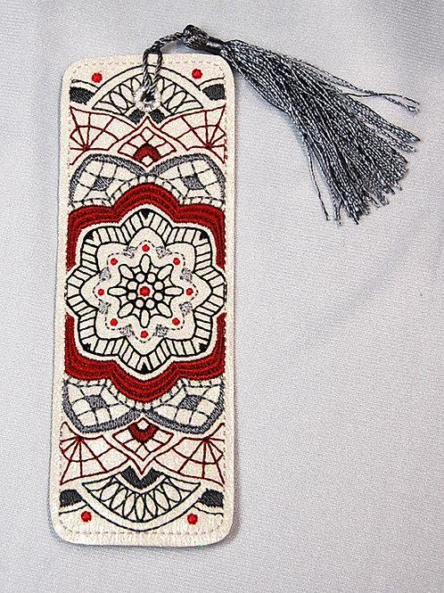 Fractal - Nymphaea bookmark