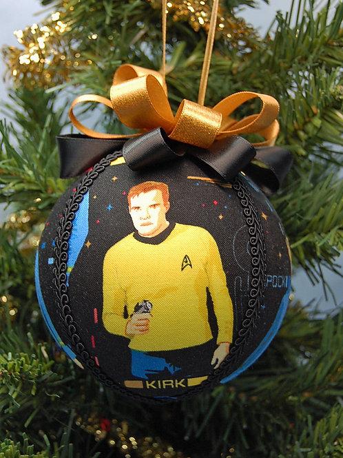 "Star Explorer Captain/Science Officer/Doctor ornament - 4"""
