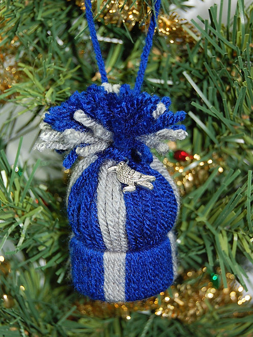 Wizard House - Raven blue/grey ornament/Party favor