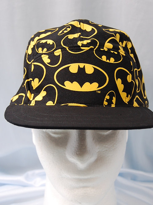 Bat guy hero cap (made from Licensed cotton print fabric)