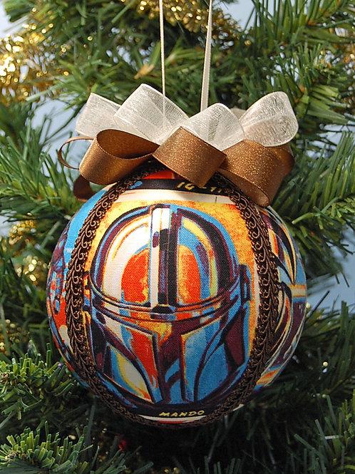 "Star Battles Bounty Hunter ornament -4"""