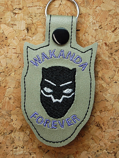 Panther Hero country snap tab key fob