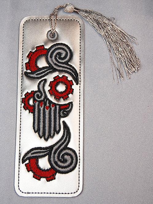 Steampunk Vampire design bookmark